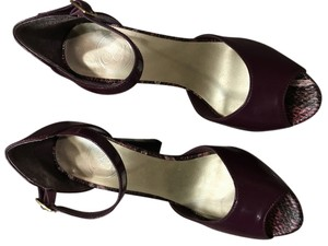 Jessica Simpson Plum Platforms