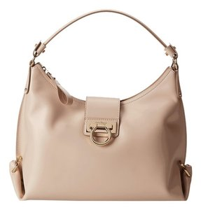 0c9f1fa4b4 Salvatore Ferragamo 21e654 Fanisa New Bisque Leather Hobo Bag - Tradesy