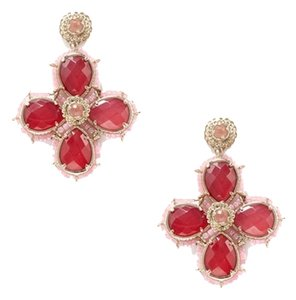Kendra Scott Oversize Beaded Cross Drop