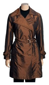 Regent Park Rain Coat Animal Print Brown Jacket