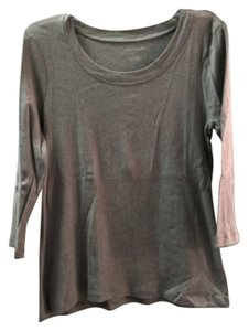 Talbots T Shirt Grey