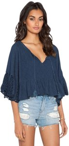 Free People New With Tags Top Navy