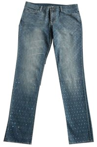 Victoria's Secret Straight Leg Jeans-Light Wash