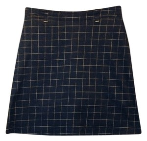 Lilly's Skirt Navy Pattern
