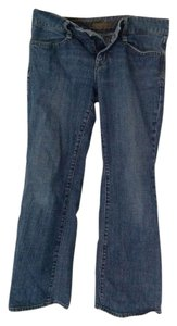 Gap Petite Relaxed Boot Cut Jeans-Medium Wash
