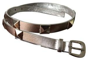 Michael Kors Metallic Riveted Belt