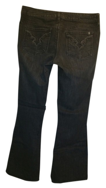 Buffalo Denim Boot Cut Jeans-Dark Rinse