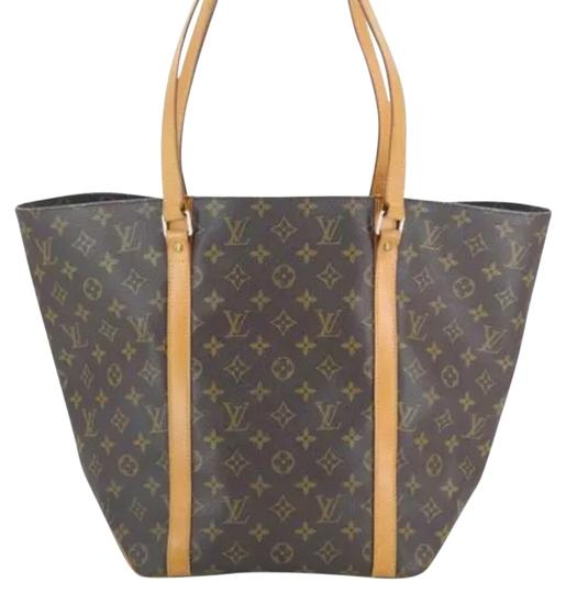 Preload https://item3.tradesy.com/images/louis-vuitton-brown-monogram-leather-shoulder-bag-1074117-0-1.jpg?width=440&height=440