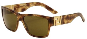 Versace Rock Icons Striped Havana Versace Sunglasses