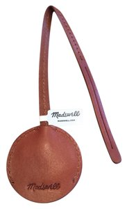 Madewell Leather Circle Key Sleeve