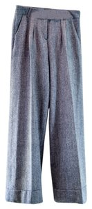 Robert Rodriguez Wide Leg Trouser Pants Grey