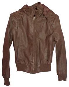 Forever 21 Brown Leather Jacket