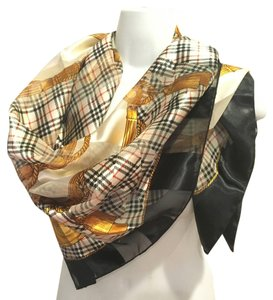 Other Large 39 x 39 mini nova check sophisticated scarf
