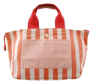 Marc Jacobs Mj Tote in Peach and White