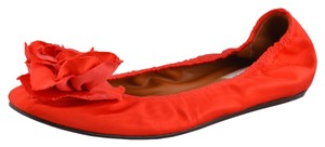 Lanvin Bright Red Flats