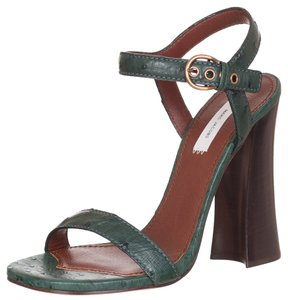 Marc Jacobs Green Sandals