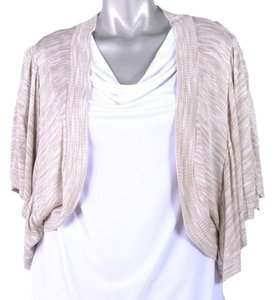 One A Batwing Sleeves Unlined Cropped Sweater Shrug Cardigan