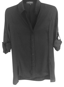 Rag & Bone Button Down Button Down Shirt Black