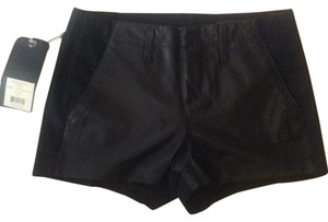 Rag & Bone Mini/Short Shorts Blac