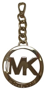 Michael Kors Signature MK Logo Key Ring/Purse Fob WRAPPED IN MK TISSUE PAPER