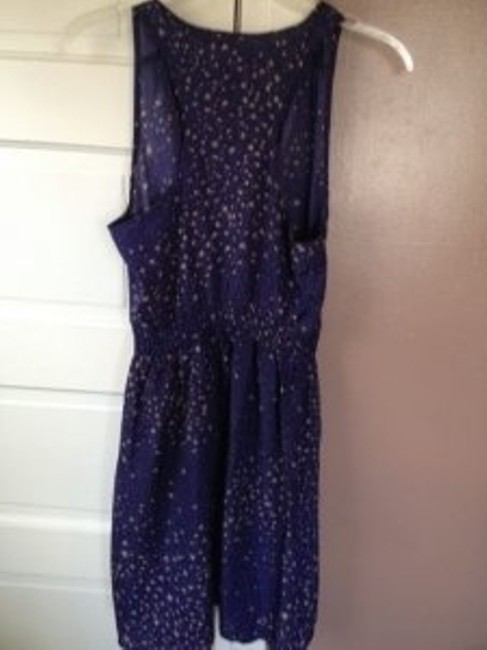 Charlotte Russe short dress Indigo on Tradesy
