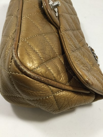 Chanel Gold Vintage Quilted Shoulder Bag