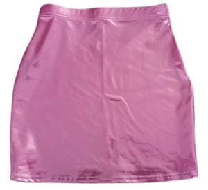 Black Milk Clothing Mini Skirt Bubblegum Pink