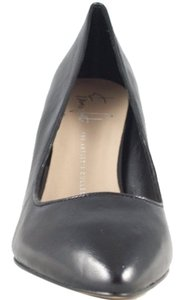 Franco Sarto Impel Black Leather Wedges