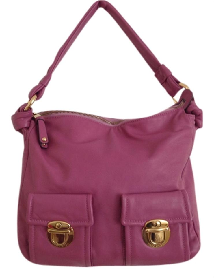 c1e9e67d560 Marc Jacobs Purple/ with Gold Hardware Purple/ Rosy Calf Leather ...