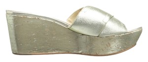 Donald J. Pliner Metallic Sandals
