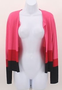 J. Jill Color Block Ls Sweater