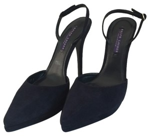 Ralph Lauren navy Platforms