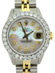 Rolex Ladies Datejust 2.2ct Diamond Watch with Rolex Box & Appraisal