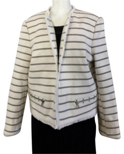 Topshop Cream/Black Blazer