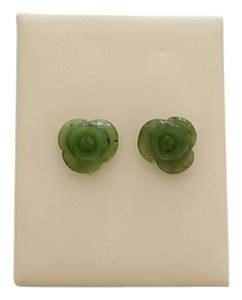 Other Green Jade Earring