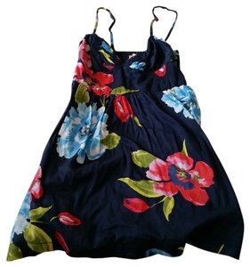 Hollister short dress Floral print on Tradesy