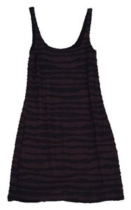 Free People short dress Black/brown on Tradesy