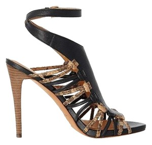 Coach Jody Sand Tan 10 Black Sandals