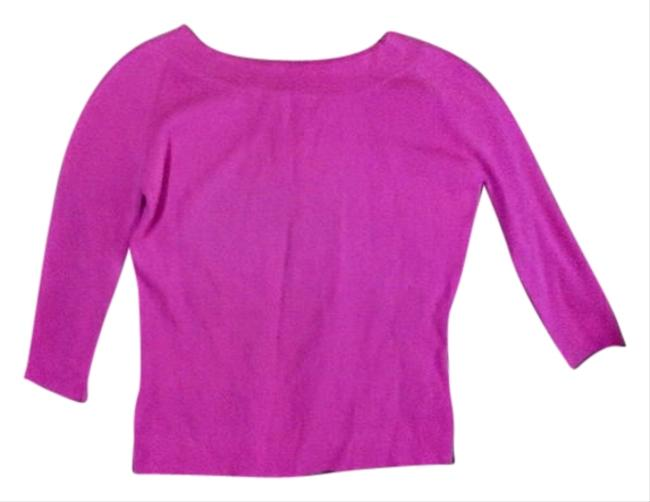 Preload https://item4.tradesy.com/images/fuchia-pink-sweaterpullover-size-12-l-1074888-0-0.jpg?width=400&height=650