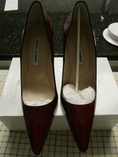 Manolo Blahnik Red/burgundy Pumps