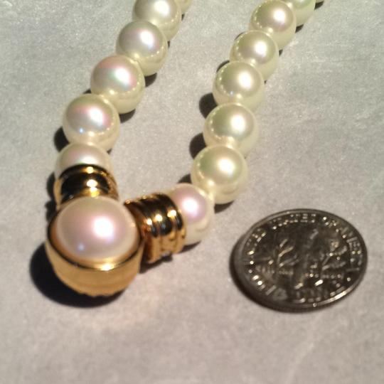 Dior Vintage Christian Dior Faux Pearl Necklace