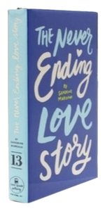 Kate Spade The Never Ending Love Story Blue Book Clutch