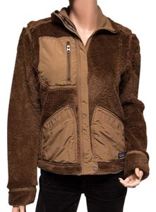 Patagonia Wind-resistant Synchilla Brown Jacket