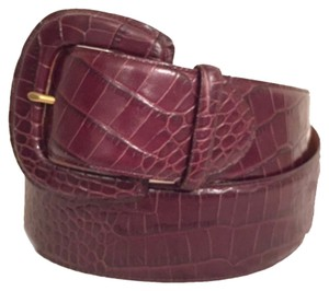 Lauren Ralph Lauren NEW! Embossed Crock. Leather