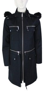 Michael Kors Fox Fur Trench Coat