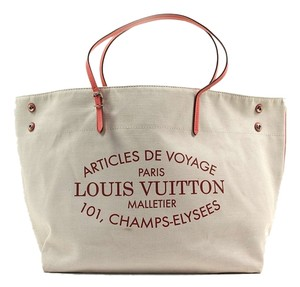 Louis Vuitton Cabas Vuitton Limited Vuitton Tote in Pink