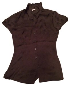 Banana Republic Top Charcoal