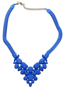 Old Navy Blue Statement Necklace