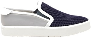 Vince Neoprene Mesh Slip-on Modern Navy/Light Grey Flats