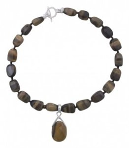 Chunky Tiger's Eye chocker